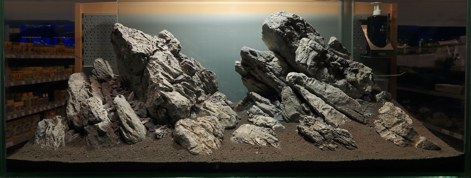 ... 10 Qualifiers - UKAPS Aquascaping Experience Hardscape Challenge 2016