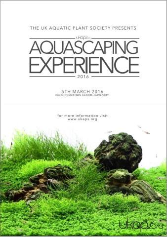 UKAPS Aquascaping Experience UK Aquatic Plant Society