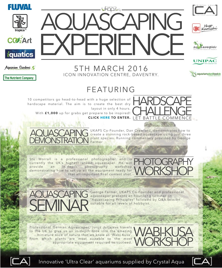 UKAPS Aquascaping Experience 2016